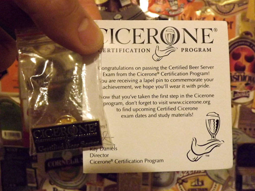 cicerone beer server