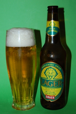 argus złocisty lager