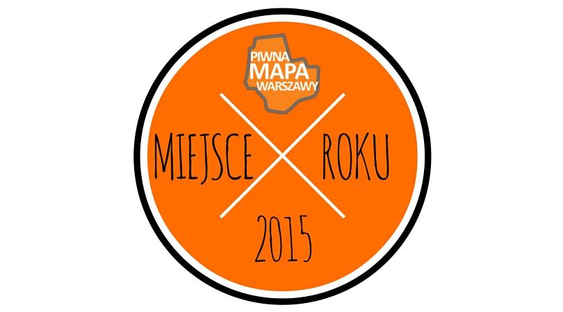 Piwna Mapa Warszawy 2015