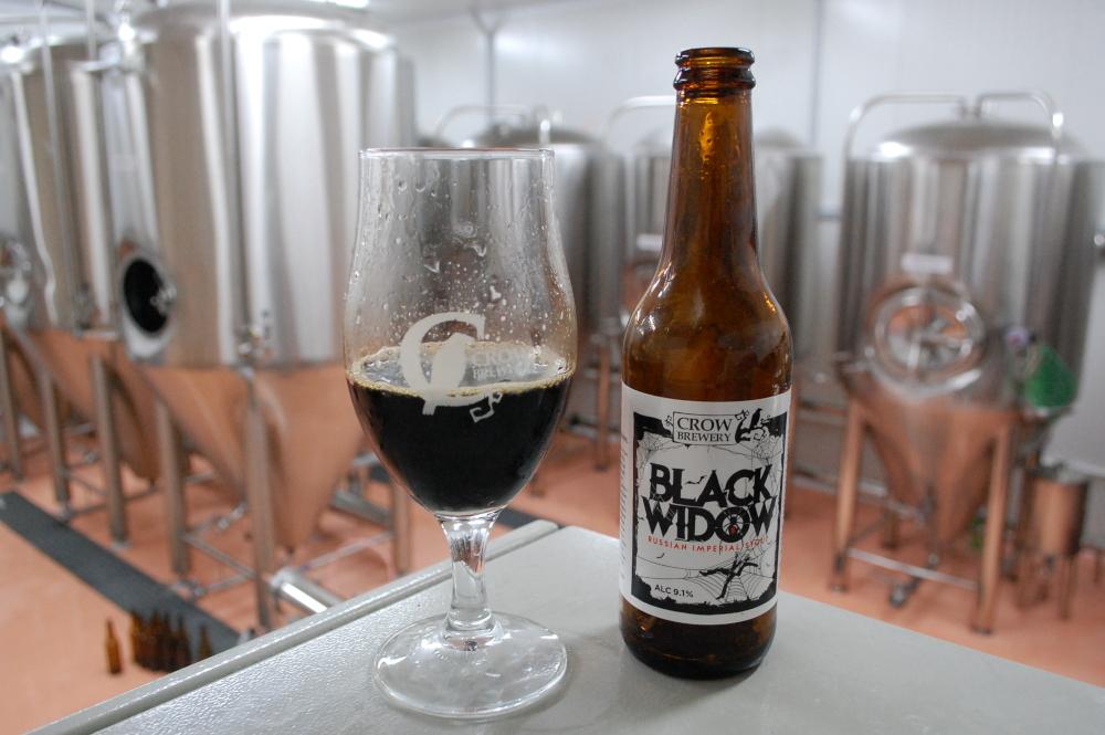 Black Widow Crow Brewery.JPG