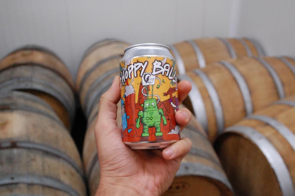 Hoppy Ball Crow Brewery.JPG