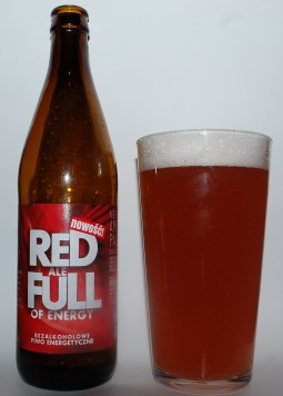 Red Ale Full of Energy